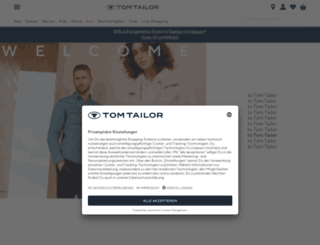 tomtailor.de screenshot