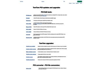 tomtom.gps-data-team.com screenshot