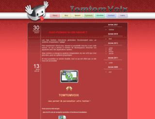 tomtomvoix.free.fr screenshot