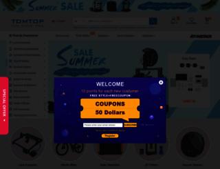 tomtop.com screenshot