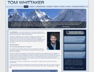 tomwhittaker.com screenshot