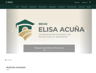 tonala.ceti.mx screenshot