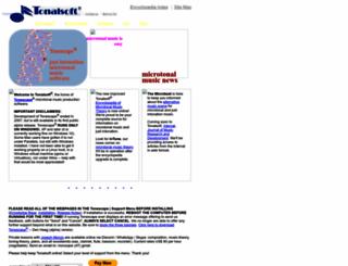 tonalsoft.com screenshot