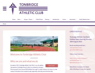tonbridgeac.co.uk screenshot