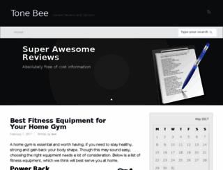 tonebee.com screenshot