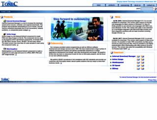 tonec.com screenshot