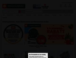 toner-dumping.de screenshot