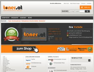 toner.at screenshot