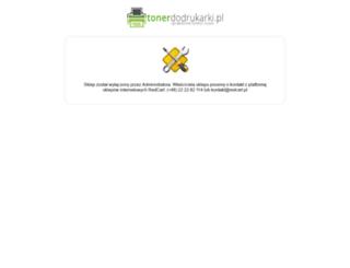 tonerdodrukarki.redcart.pl screenshot