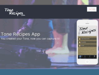 tonerecipes.com screenshot