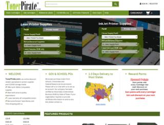 tonerpirate.com screenshot