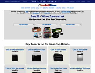 tonerrefillkits.com screenshot