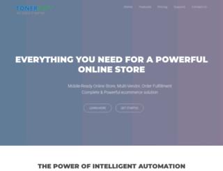 tonersoft.com screenshot