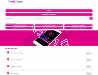 tonetweet.com screenshot