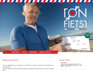 tonfietst.nl screenshot