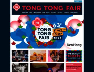 tongtongfair.nl screenshot