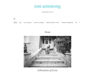 toniarmstrong.com screenshot