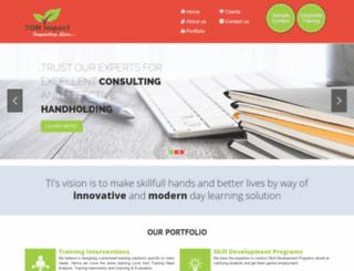 tonimpact.com screenshot