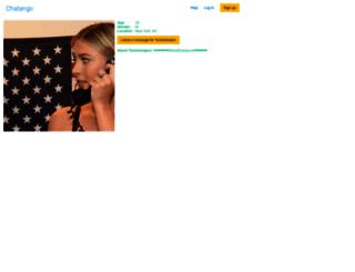 tonisharapov.chatango.com screenshot
