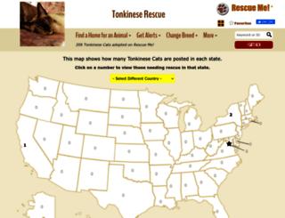 tonkinese.rescueme.org screenshot