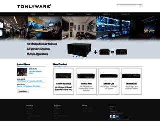 tonlyware.com screenshot