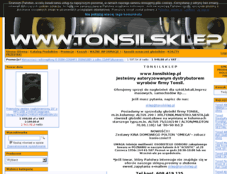 tonsilsklep.pl screenshot