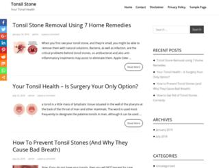tonsilstone.com screenshot