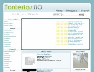 tonteriasno.com screenshot