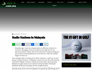 tontonmusic.com.my screenshot
