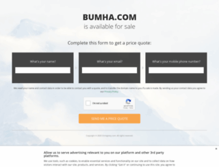 tonybjno33.bumha.com screenshot