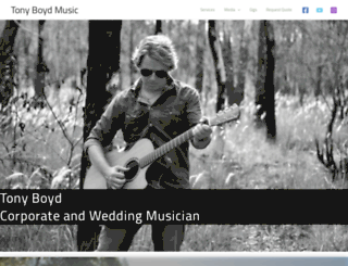tonyboydmusic.com screenshot