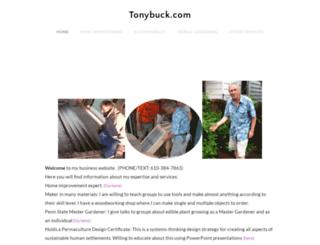 tonybuck.com screenshot