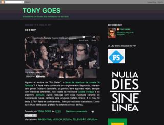 tonygoes.blogspot.com.br screenshot