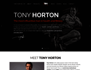 tonyhortonlife.com screenshot