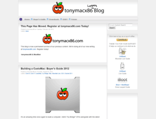 tonymacx86.blogspot.mx screenshot