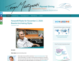 tonymartignetti.com screenshot