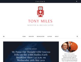 tonymiles.com screenshot