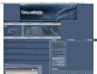 tonymoncada.awardspace.com screenshot