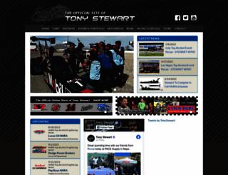 tonystewart.com screenshot