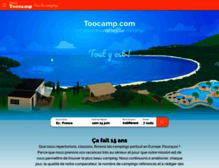 toocamp.com screenshot
