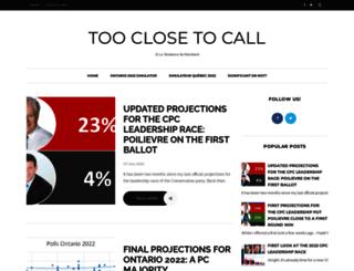 tooclosetocall.ca screenshot