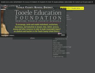 tooelesd.org screenshot