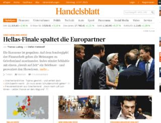 tool.handelsblatt.com screenshot