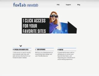 toolbar.foxtab.com screenshot