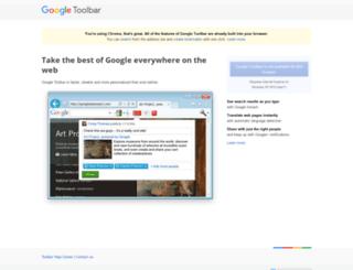 toolbar.google.com screenshot