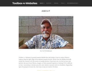 toolbox-4-websites.com screenshot