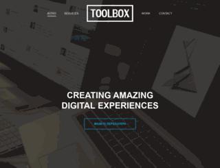 toolbox.agency screenshot