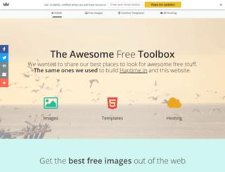 toolbox.haptime.in screenshot
