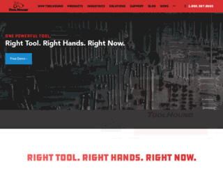 toolhound.com screenshot