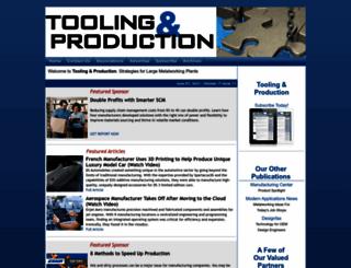 toolingandproduction.com screenshot